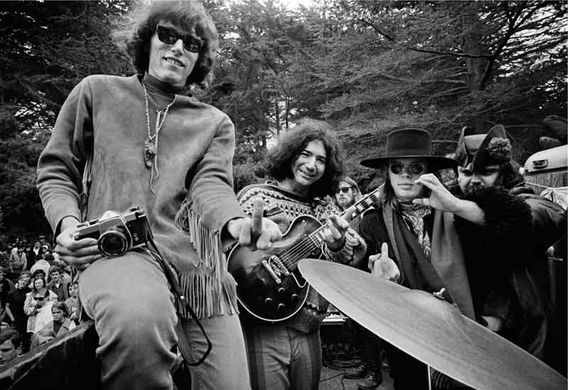 The Grateful Dead and Jefferson Airplane, Golden Gate Park, SF, 1967