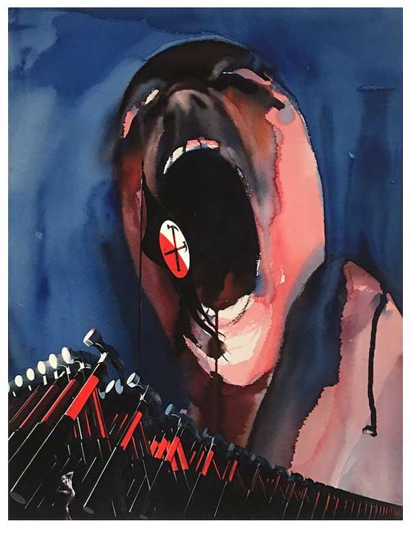 Gerald Scarfe The Wall Commemorative Print
