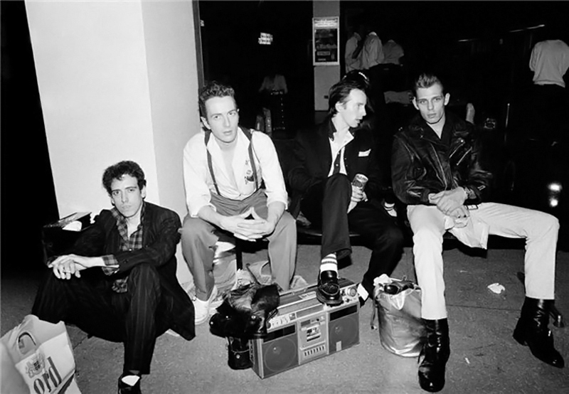 The Clash, NYC, 1981