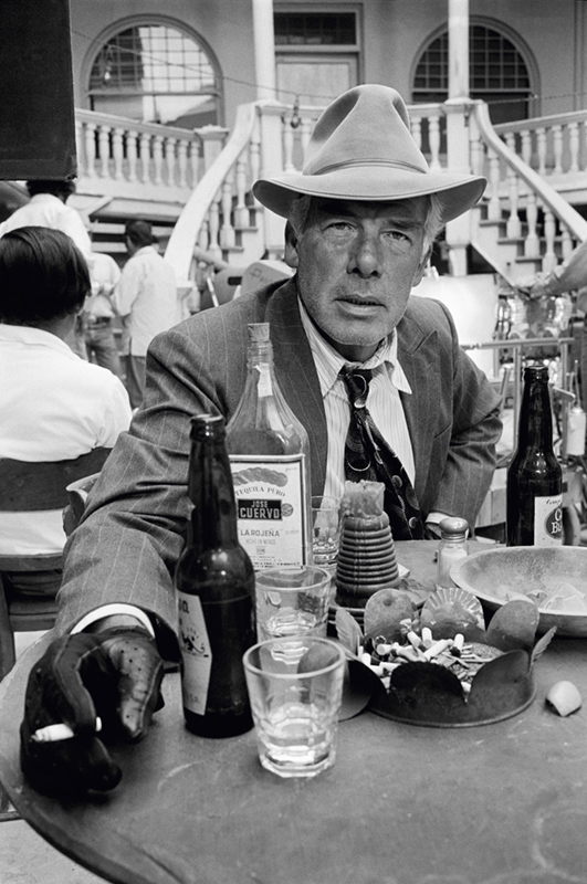 Lee Marvin on the Set of Pocket Money, Tucson, AZ, 1971