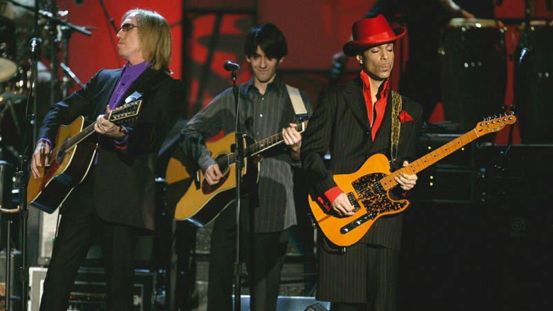 Prince, Dhani Harrison & Tom Petty, HOF Performance 2004