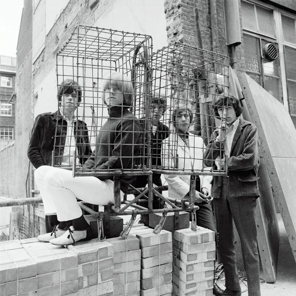 The Rolling Stones Caged #2, Ormond Yard, London, 1965