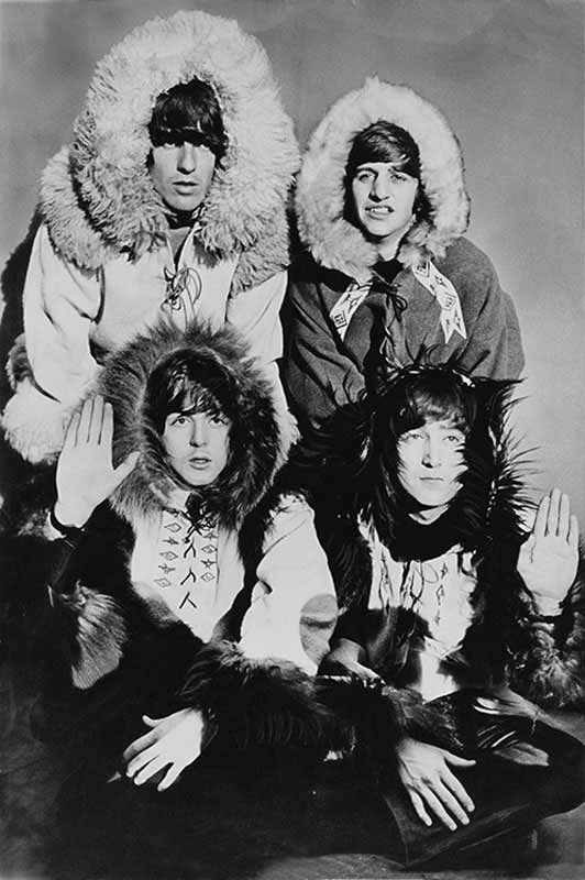 The Beatles Dressed as Eskimos, Hammersmith Odeon, 1964