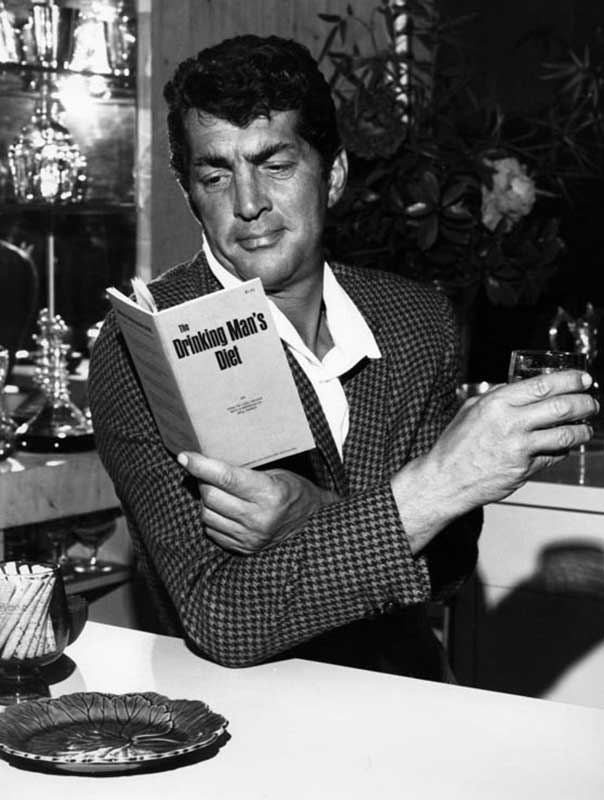 Dean Martin, The Drinking Mans Diet, late 1960s