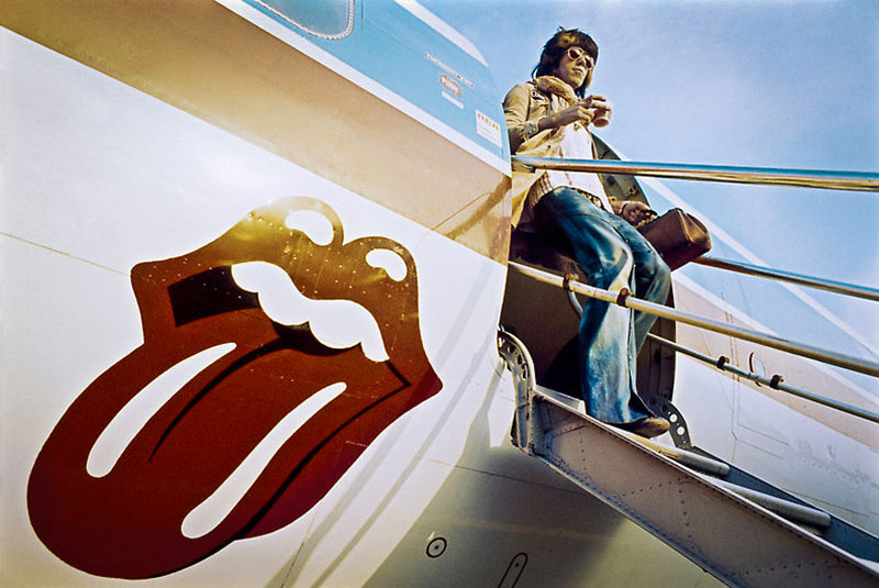 "Keith Richards Exits ""The Starship"", 1972"