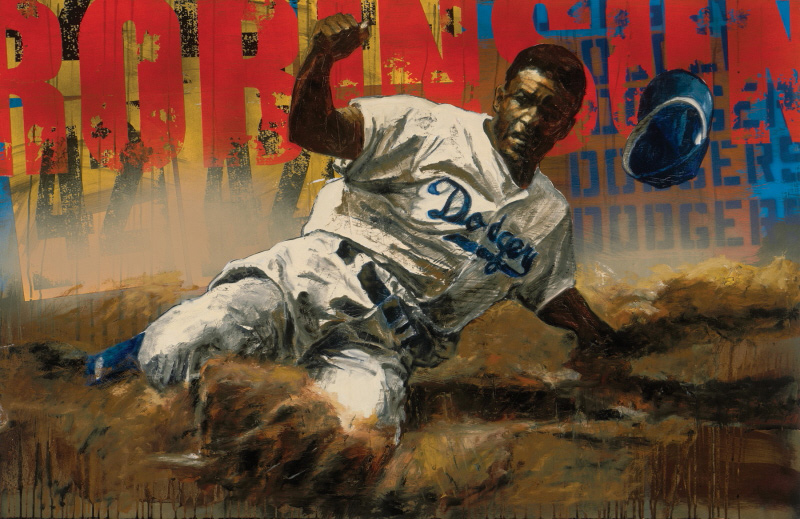 Jackie Robinson - Los Angeles Dodgers, 2008