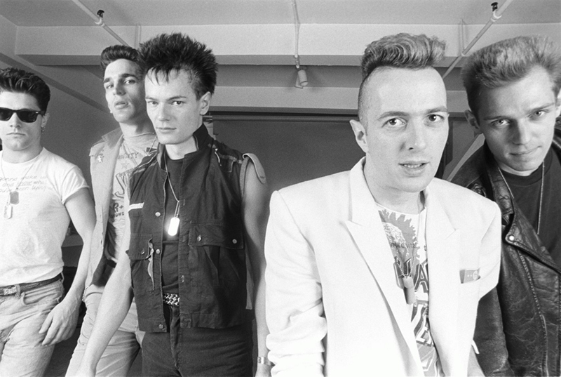The Clash Group Portrait, c. 1984