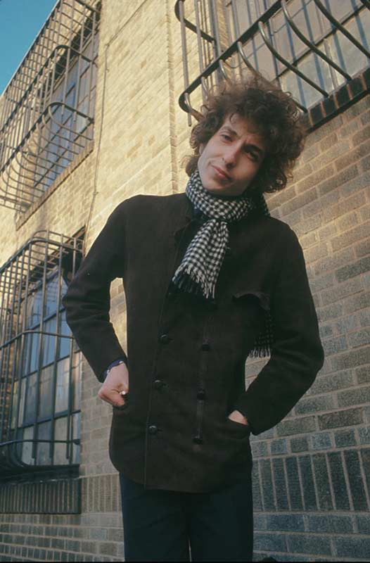 Bob Dylan, Along The Fire Escape, NYC, 1966