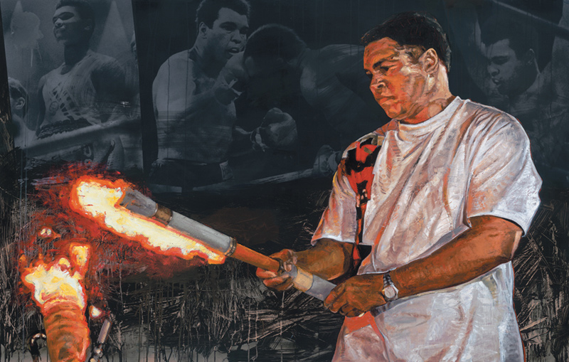 Muhammad Ali, Olympic Torch (Atlanta), 2006