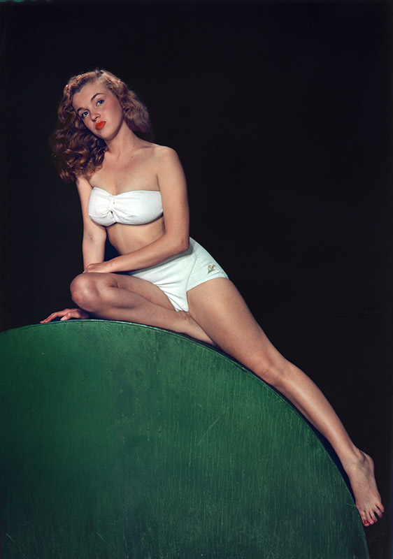 Norma Jean, Classic Pin-Up, 1946 (Color)
