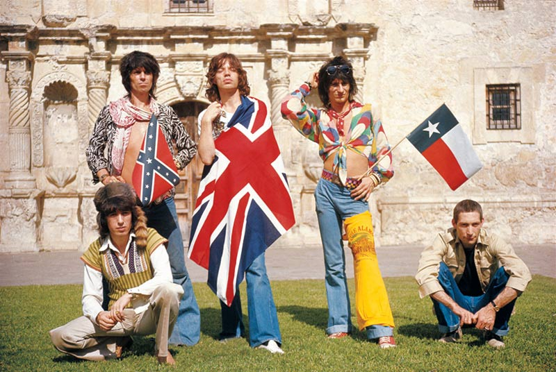 The Rolling Stones at the Alamo, TX, 1975