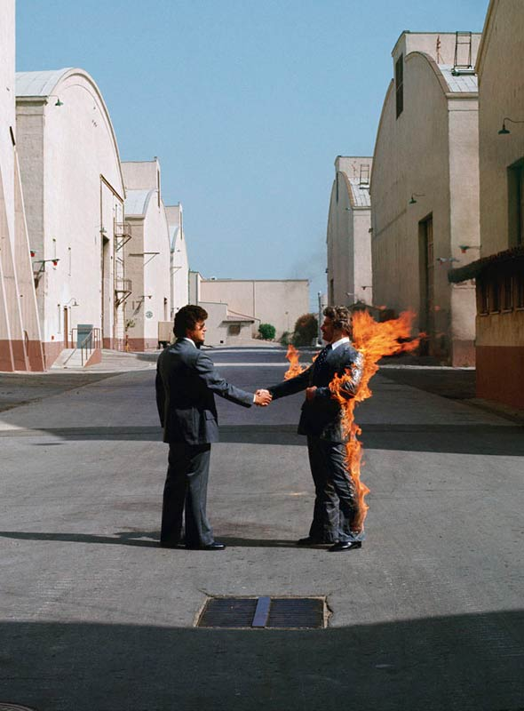 Pink Floyd, Wish You Were Here Album Cover (US), 1980
