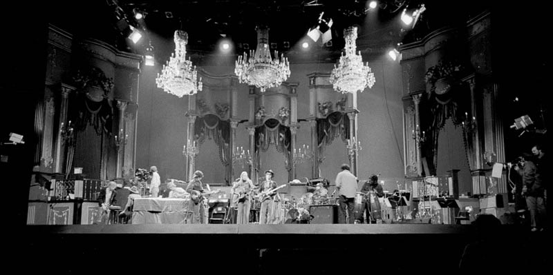 The Last Waltz Rehearsal, San Francisco, 1976