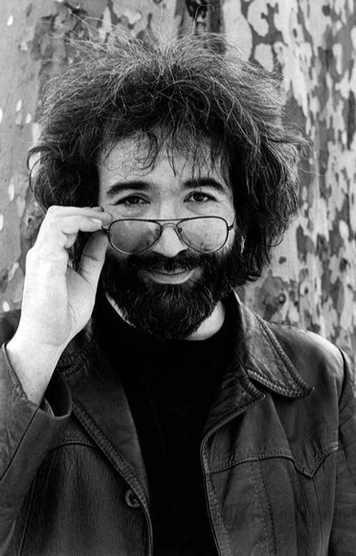 Jerry Garcia, With Glasses, Central Park, NYC, 1975
