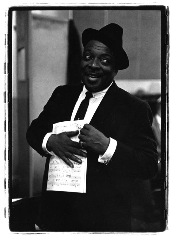 Count Basie in Rehearsal, 1960