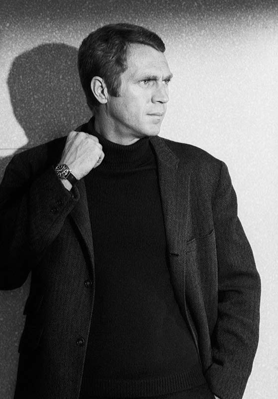 Steve McQueen Portrait in Jacket, on the Set of Bullitt, San Francisco, 1968