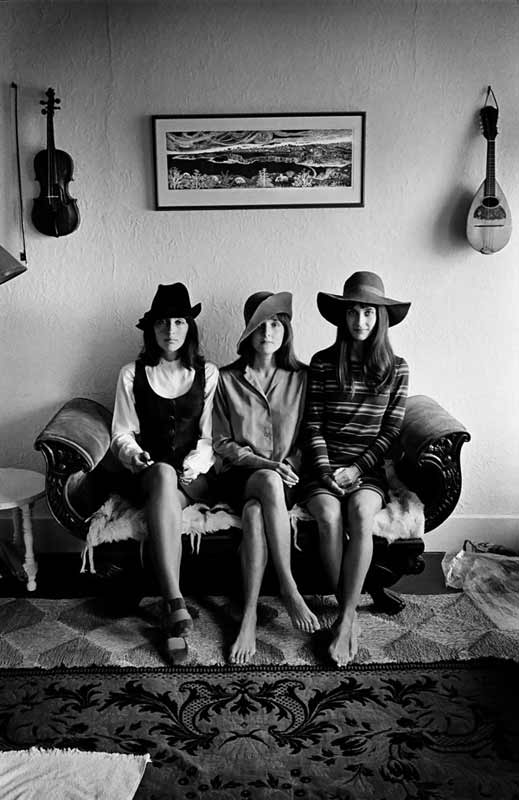 Joan Baez and Her Sisters, San Francisco, 1968