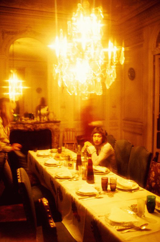 Charlie Watts at the Dining Table, Yellow, Nellcôte, France, 1971