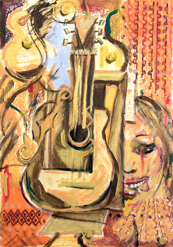 Guitar After Braque