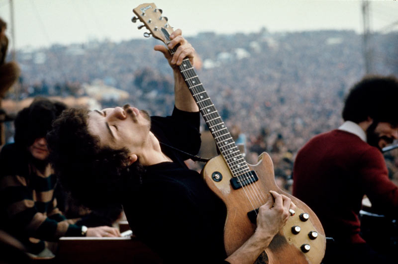 Carlos Santana Performing at the Altamont Free Festival, 1969