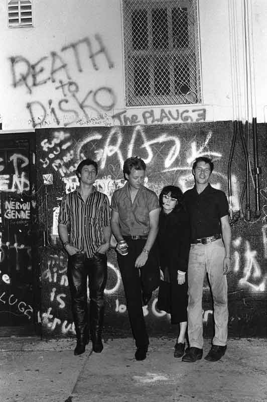 X Outside the Masque, Los Angeles, 1983