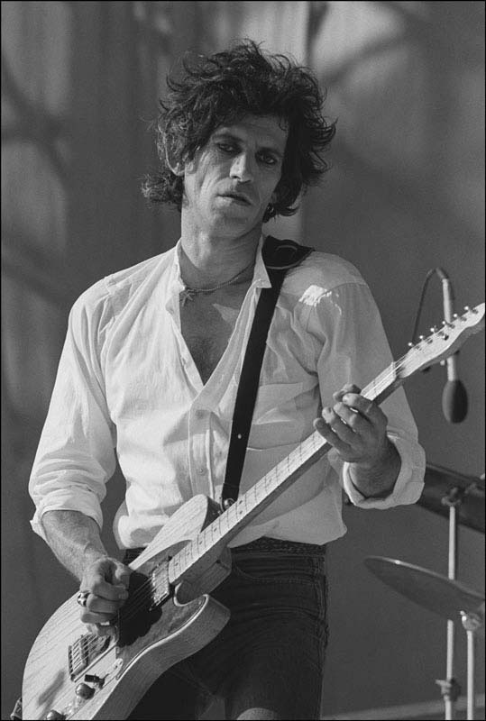 Keith Richards, JFK Stadium, Philadelphia, 1981