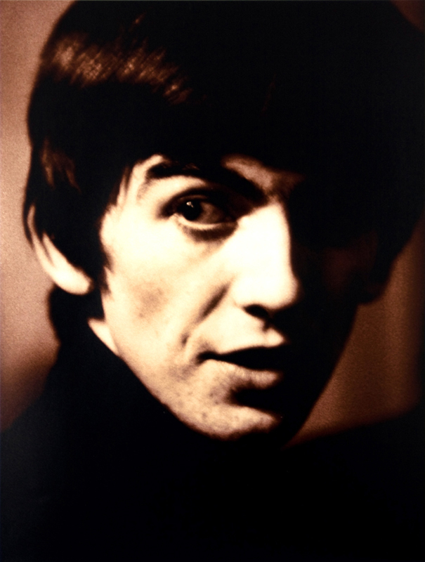 George Harrison Portrait, Sepia, Liverpool, 1963