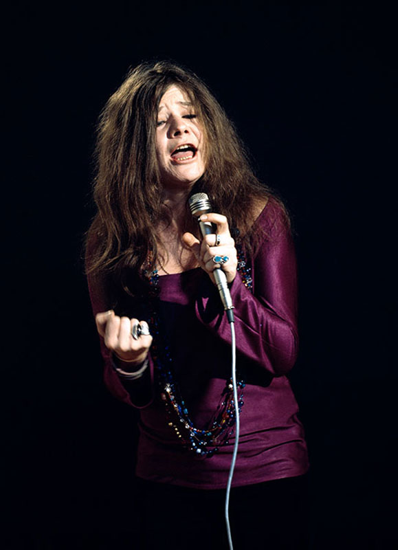 Janis Joplin Sings (Eyes Open, Closed Fist), San Francisco, January 1968