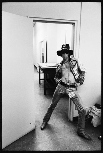 Keith Richards, Sprinkler Valve Sticker, SMR Photo Shoot, London, 1967
