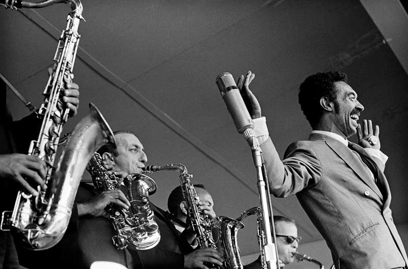 Gerald Wilson and His All-Star Festival Orchestra, Monterey Jazz Festival, Monterey, CA, 1963