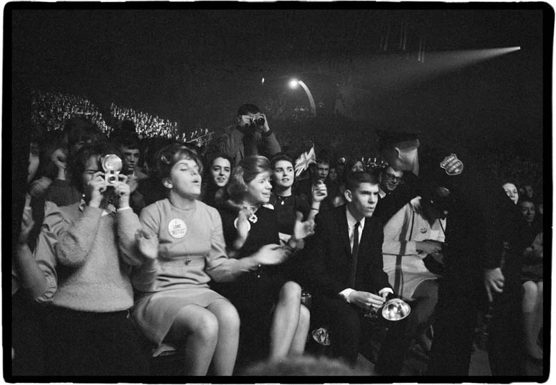 The Audience at the Coliseum, Washington DC, 1964