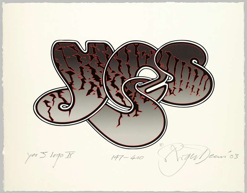 Yes 35th Anniversary Bubble Logo IV, 2003