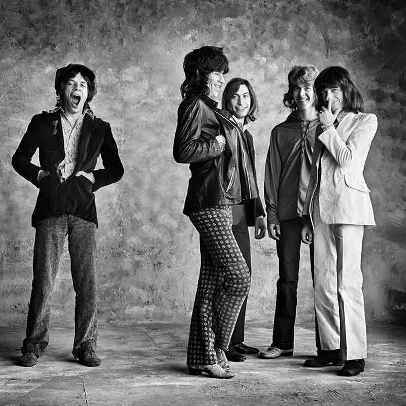 The Rolling Stones, Sticky Fingers - Big Yawn, (Album Insert), London, 1971