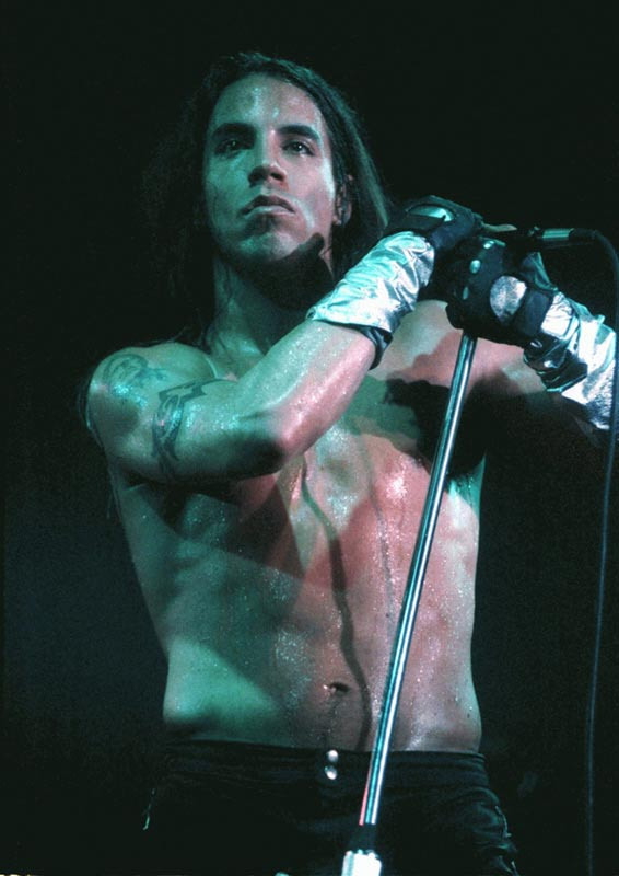 Anthony Kiedis, Red Hot Chili Peppers, Hamburg, 1992