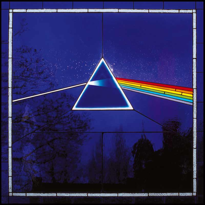Pink Floyd, Dark Side 30th Anniversary Reissue Album Cover, 2003