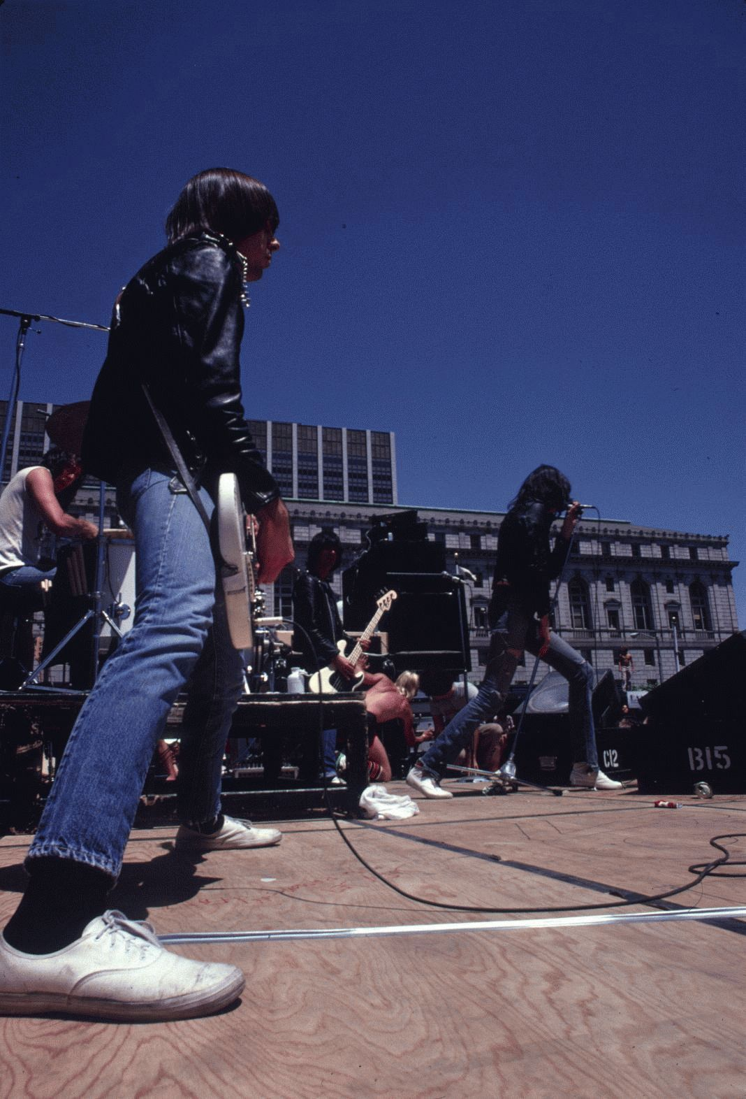 The Ramones, Civic Center, San Francisco, 1979 (Vertical)