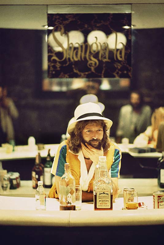 Eric Clapton No Reason To Cry Album Cover Outtake, Shangri-La Recording Studios, Malibu, 1975