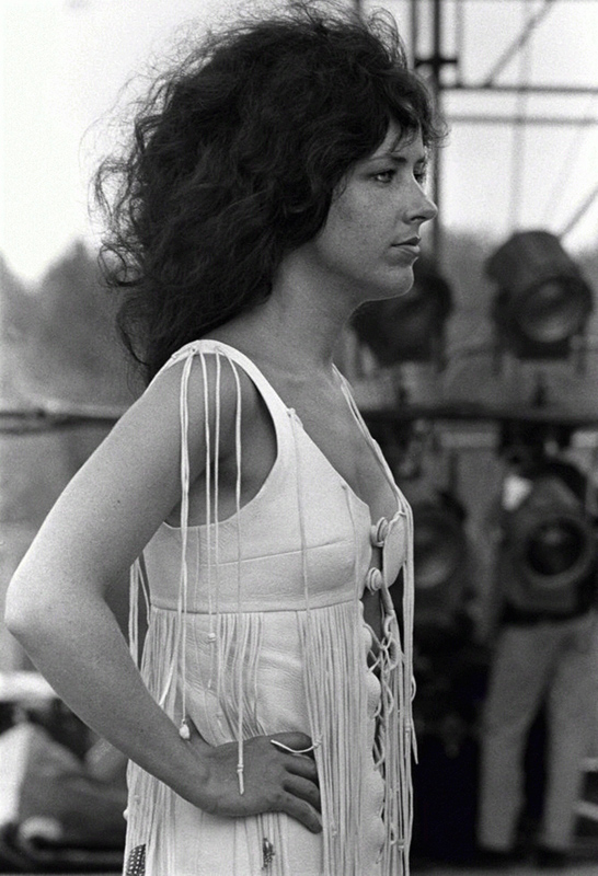 Grace Slick, Woodstock Festival, 1969