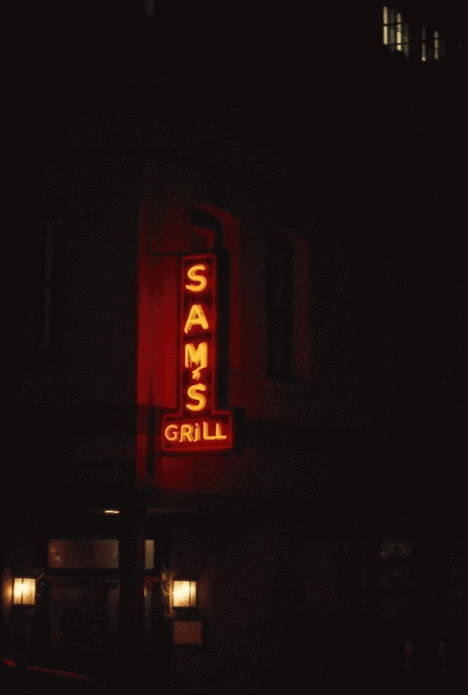 San Francisco Neon Series, Sam's Grill, 1980