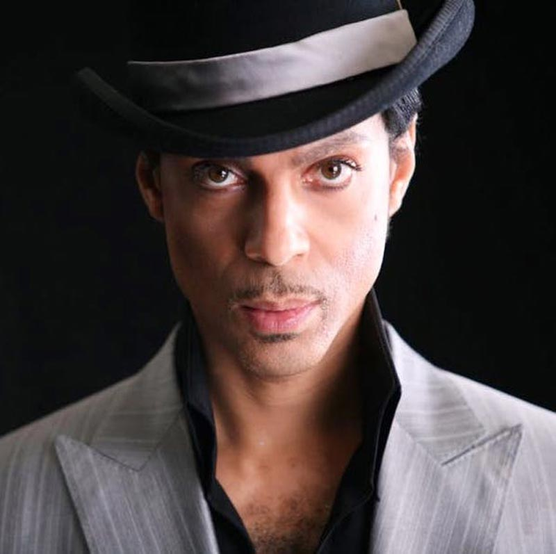 Prince Portrait in Gray Hat & Suit, Los Angeles, 2006