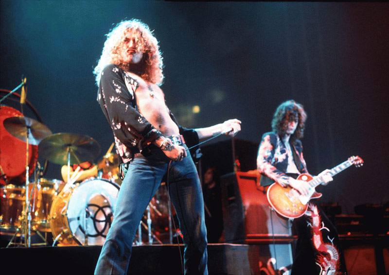 Led Zeppelin, Earls Court, London, 1975
