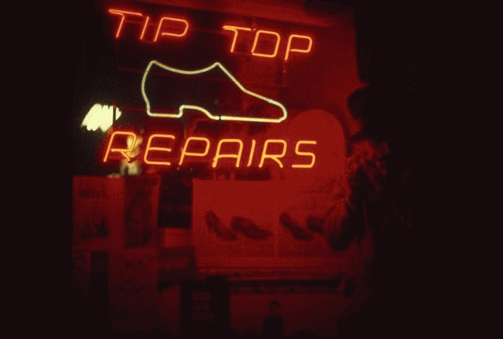 San Francisco Neon Series, Tip Top Repairs, 1980