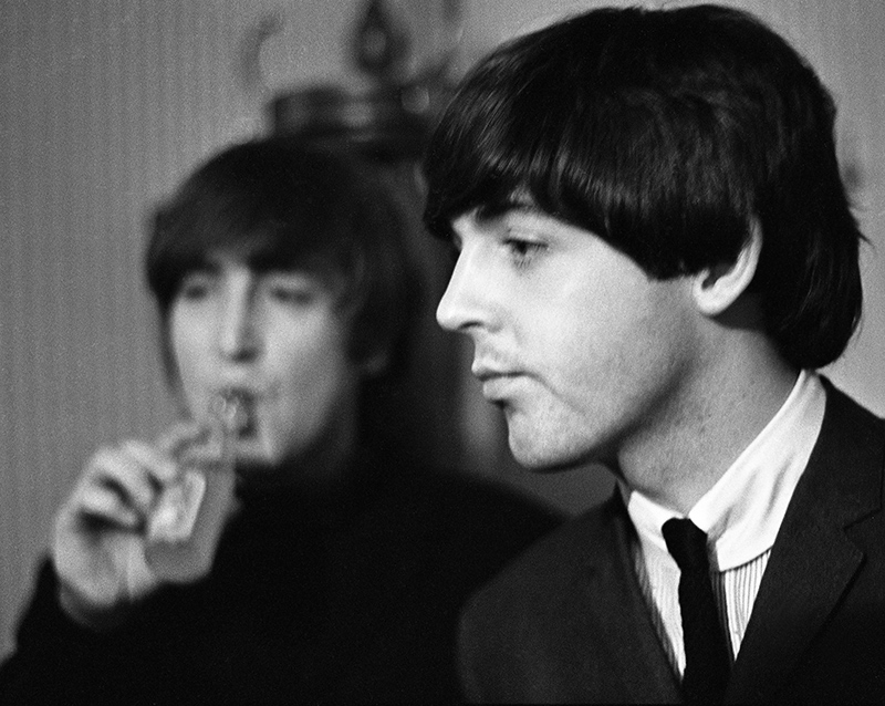 John Lennon and Paul McCartney, Fade Out, Odeon, Leeds, 1964