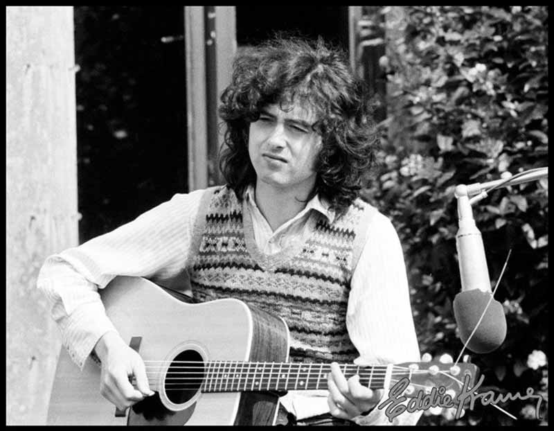 Jimmy Page - The English Schoolboy, Stargroves, 1972