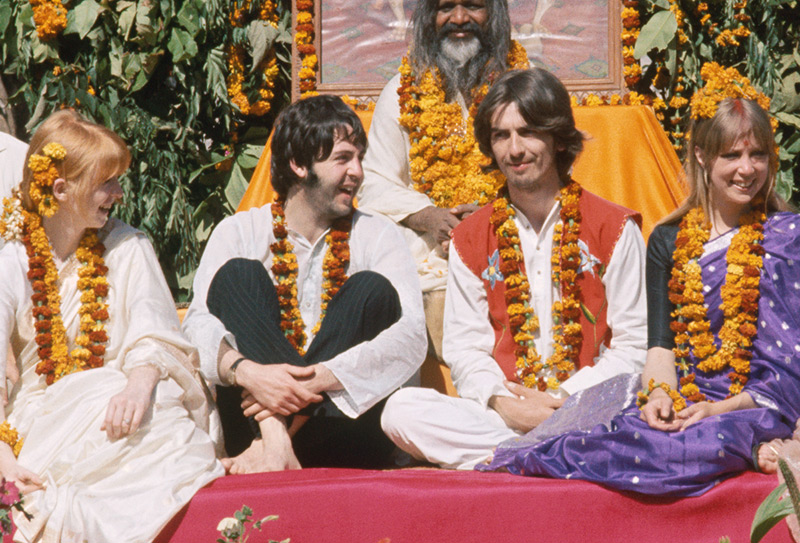 Good One - Paul McCartney & George Harrison Share a Laugh, Rishikesh, India, 1968