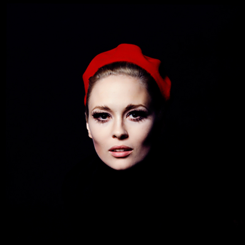 Faye Dunaway, Red Hat, New York, 1968