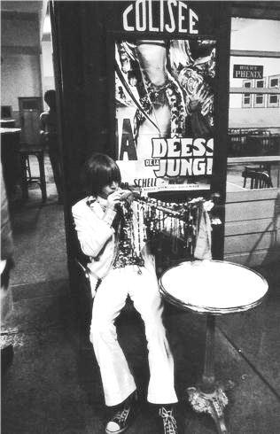 Brian Jones at a Cafe, Tangiers, Morocco, 1967