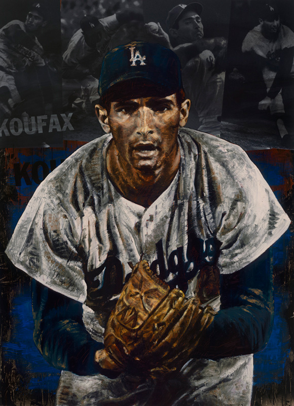 Sandy Koufax, The Stare - Los Angeles Dodgers, 2007
