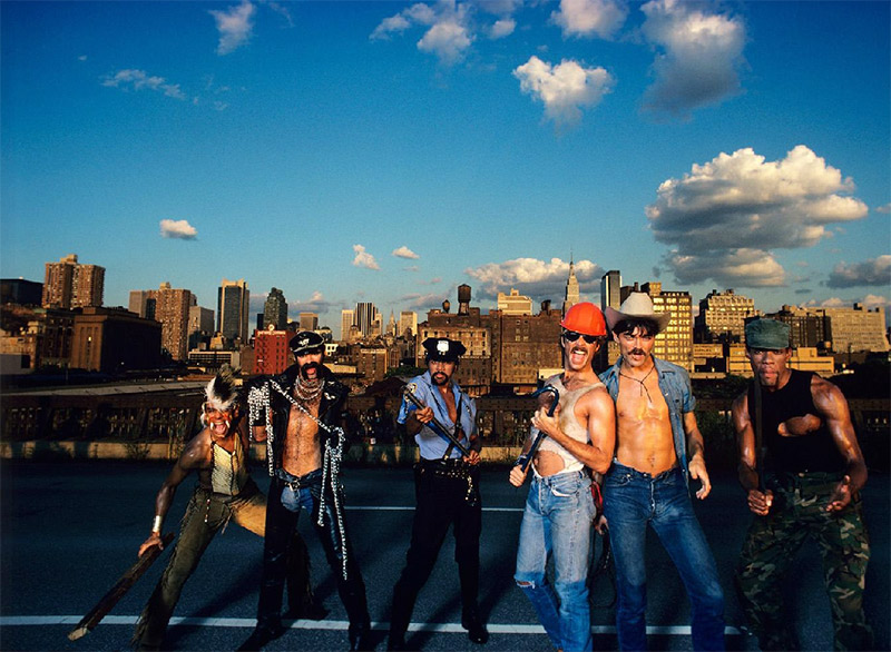 The Village People on the Highline, NYC, 1979