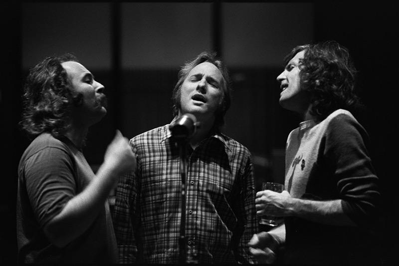 Crosby, Stills & Nash, CSN Album Back Cover, 1977